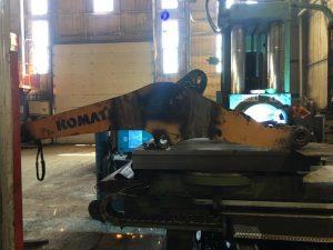 WA320 Loder Bomu Tadilatı Borverk