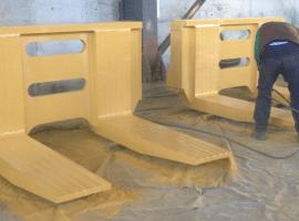 Mermer Çatalı Forklift
