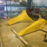 Ekskavatör Arm Ekskavatör Bom İmalatı İş Makinası Uzun Bom Arm