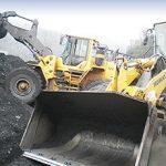 loder (yükleyici) kömür yükleme kovası
