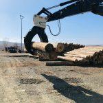 Odun yükleme ataşmanı