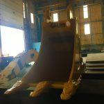 Komatsu PC130 Kovası Ekskavatör Kovaları
